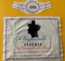 11014 - Fleurie Pomponette 1978 La Chapelle Des Bois - Beaujolais