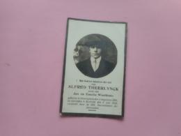 D.P-ALFRED THEELYNCK °DESSELGHEM 2-8-1895+KORTRIJK 6-7-1918 - Religion & Esotericism