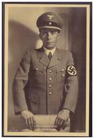 Dt- Reich (008478) Propagandakarte Reichsminister Dr. Goebbels, Ungebraucht Blanco Gestempelt Mit SST Nürnberg Am 3.9.37 - Briefe U. Dokumente
