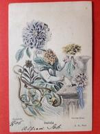 1906 - Illustrateur GRANDVILLE - Surrealisme - DAHLIA - DALIA - BLOEM - FLEUR - Autres Illustrateurs