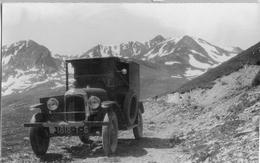 Automobile Non Identifiée -photo Ancienne Originale - Cars