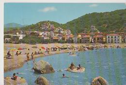 CITTA DEL CAPO LA SPIAGGIA-PANORAMA-VIAGGIATA-1980-FG-MT.1103 - Cosenza