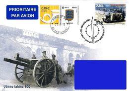 Estonia Estland Estonie 2019 (16) Battle Of Võnnu (Cesis) - 100 Years (addressed FDC) - Estonie