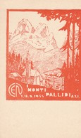 Cartolina - Postcard / Non Viaggiata - Unsent /  Monti Pallidi, A Cura Club Alpino Italiano Escursionisti Napoletani. - Mountaineering, Alpinism