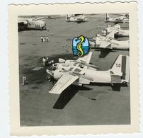 LYON BRON Tarmac Aeroport 53 54 à Situer Identifier Americain Usa Accident Recherche 50s - Aviation