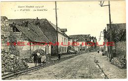 WAVRIN - Nord - Près De Lille- Guerre 14 - France