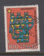 Italy Republic S 1309 1975 Unification Of Archives,used - 6. 1946-.. Republic