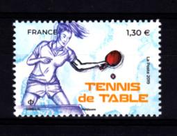 F 2019 / N** 1.30 € , Tennis De Table, Timbre Du Bloc Sport Couleur Passion - Ongebruikt