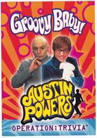 Austin Powers - Groovy Baby ! - Operation : Trivia - (1999) - Posters Op Kaarten