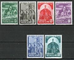Vatican 1960 Complete Set Of Stamps Celebrating World Refugee Year. - Unused Stamps