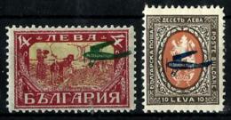 Bulgaria A-3a/4a Con Charnela - 1909-45 Reino