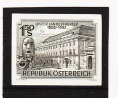 HSE112 ÖSTERREICH 1953 SCHWARZDRUCK MICHL 988  OHNE GUMMI Siehe ABBILDUNG - 1945-.... 2. Republik