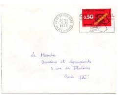 COTES Du NORD - Dépt N° 22 = SAINT BRIEUC GARE 1973 = FLAMME CONCORDANTE =  SECAP Multiple ' CODE POSTAL / Mot Passe' - Zipcode