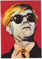 'Andy Warhol' - Jule Baumeister, Witten - (80 X 100/ Öl Auf Leinwand) - Schilderijen