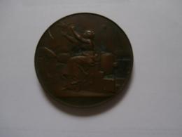 Médaille Ministère De La Guerre  : Bordeaux 1902  Veys Anseghem (Anzegem) - France