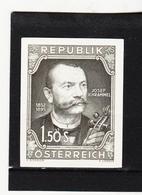 HSE98 ÖSTERREICH 1952 SCHWARZDRUCK MICHL 970  OHNE GUMMI Siehe ABBILDUNG - 1945-.... 2. Republik