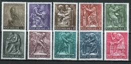 Vatican 1966 Complete Set Of Definitive Stamps. - Vatican