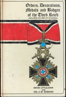 Buch : Orders , Medals And Badges Of The Third Reich - English
