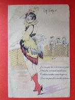 Illustrateur W. TIP - LA GRUE - FEMMES A PLUMAGES - DE KRAANVOGEL OF LICHTEKOOI - Autres Illustrateurs