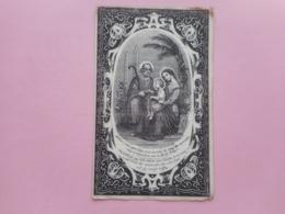 D.P.-NATHALIE DE MEULENAERE °COOLSCAMP 22-2-1821+DENTERGEM 5-2-1856 - Religion & Esotericism