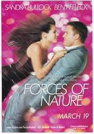 'Forces Of Nature' - Sandra Bullock & Ben Affleck - Posters Op Kaarten