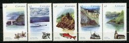 Canada, Yvert 1329/1333, Scott 1489a, MNH - 1952-.... Règne D'Elizabeth II