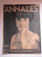 LES ANNALES Mai 1933 Anna De Noailles, Le Grand Poète Dont La Mort Met En Deuil Les Lettres Françaises (abîmé) - Zonder Classificatie