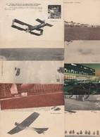 AVIATION - Lot De 10 Cartes - (àvoir 10 Scans) - Aviation