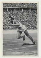 Olympia 1936  Vignette Sammelbild Jesse Owens USA - Trading-Karten
