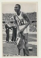 Olympia 1936  Vignette Sammelbild Archie F. Williams USA - Trading-Karten