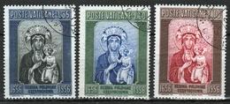 Vatican 1956 Complete Set Of Stamps Celebrating Black Madonna. - Used Stamps