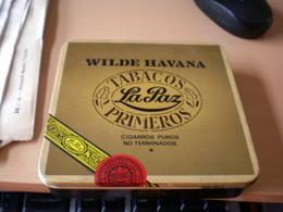 Wilde Havana Tabacos La Paz Primeros Cigarros Puros No Terminados - Contenitori Di Tabacco (vuoti)