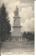 88 - Bellefontaine - Monument Aux Soldats Morts (1870-71 - 1914-18) - France