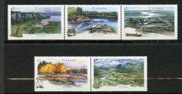 Canada, Yvert 1359/1363, Scott 1515a, MNH - 1952-.... Règne D'Elizabeth II