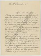 Guerre De 1914-18 . LAS G. De Bray Commandant Le 137e RTI De Saintes . Se Plaint De La Réaffectation De Son Régiment . - Documents