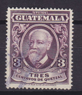 Guatemala 1929 Mi. 223     3 C. Lorenzo Montúfar - Guatemala