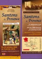 Marque-page °° Lavardens 32 - Expo 2009 Santons De Provence - Flyer 8x21 - Marque-Pages