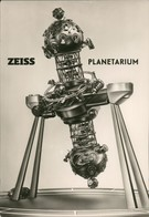 Jena Zeiss Planetarium Technik Vorführgerät Postkarte DDR 1965 - Jena