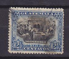 Guatemala 1907 Mi. 116   12½ C National Symbols Declaration Of Independence - Guatemala