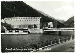 Centrale Di CIMEGO (TRENTO) E Lago Artificiale - Trento