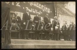 Postcard / CPA / Bruxelles / Ed. V. Hennebert / 1912 / 2 Scans / Henry Carton De Wiart / 7 Juli / Regeering - Fêtes, événements