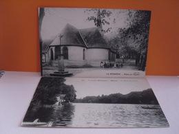 Place De L'église (la Bussière)------les Bords Du Loiret (olivet) - Francia