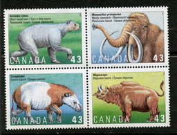 Canada, Yvert 1386/1389, Scott 1532a, MNH - 1952-.... Règne D'Elizabeth II