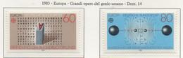 PIA  -  GERMANIA  -  1983  :  Europa  (Yv  1007-08) - Europa-CEPT