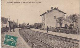 SAINT - FARGEAU : LE GARE DE SAINT - FARGEAU . - Saint Fargeau