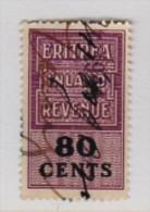 MARCA DA BOLLO/REVENUE- COLONIE   ERITREA INLAND REVENUE : 80 Cent - Italia