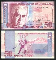 ARMENIA – 50 DRAM  - 1998 - UNC - Armenien