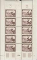 SAARGEBIET  305, Kleinbogen, Postfrisch **, Tag Der Briefmarke 1951 - Neufs
