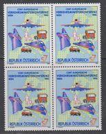 Austria 1995 CEMT 1v Bl Of 4 ** Mnh (43633C) - Europese Gedachte