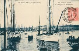 CPA 29 Finistère Concarneau Le Port De Pêche Le Plus Joli De Bretagne - Concarneau
